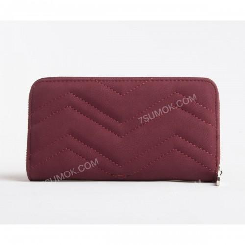 Жіночий гаманець DFX1791-1 bordeauxe