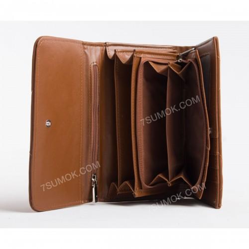 Жіночий гаманець DFX1791-3 brown