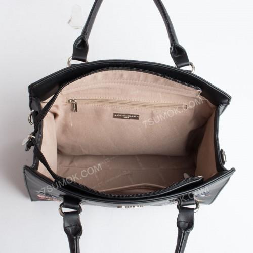 Жіноча сумка 5862-4T black