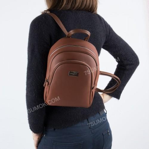 Жіночий рюкзак CM3933T brown