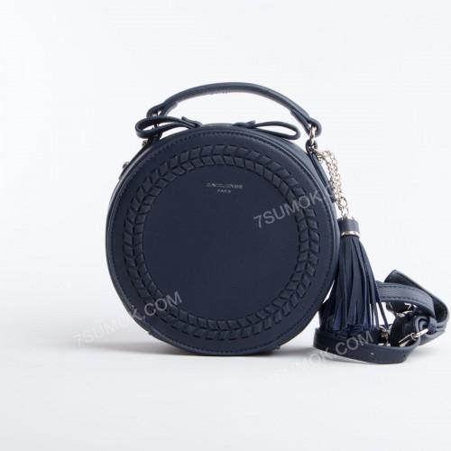 Клатч TD001 dark blue