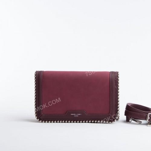 Клатч 6165-2T dark purple