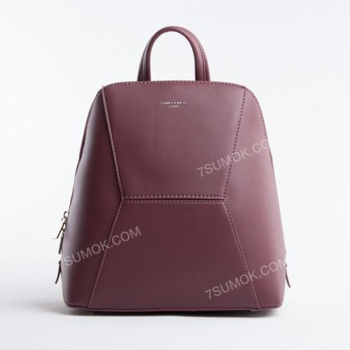 Жіночий рюкзак 5709-2T dark bordeaux