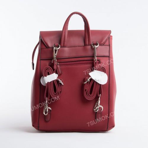 Жіночий рюкзак CM5494T dark red