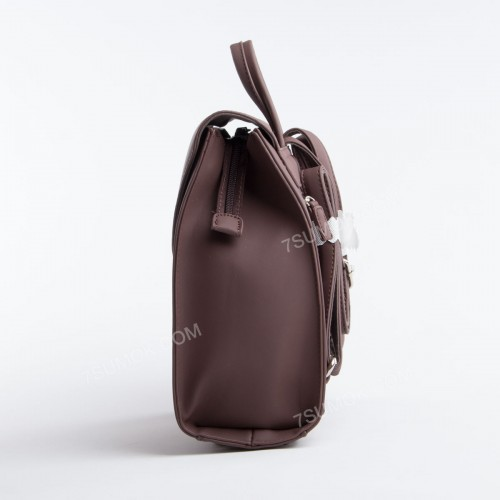 Жіночий рюкзак SF006 dark brown
