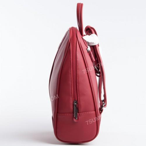Жіночий рюкзак CM5433T dark red