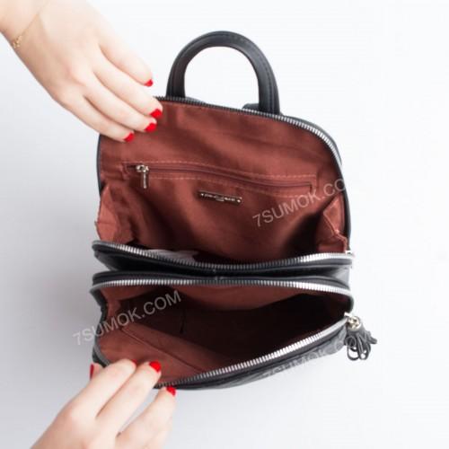 Жіночий рюкзак 6146-2T black
