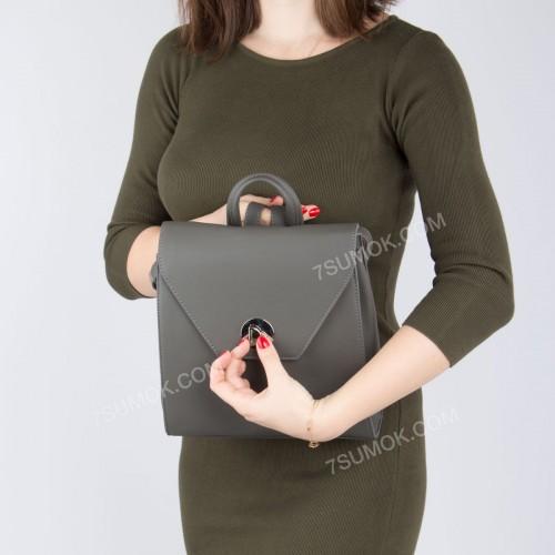 Жіночий рюкзак SF006 dark gray