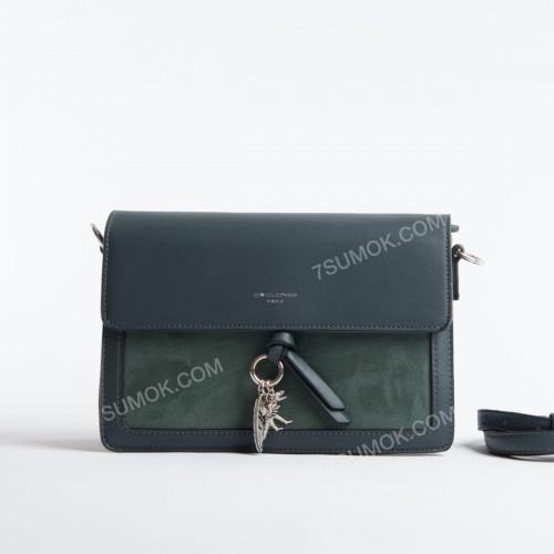 Клатч TD008 dark green
