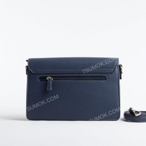 Клатч TD008 dark blue