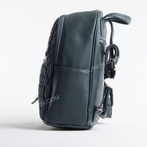 Жіночий рюкзак 6152-4T dark green