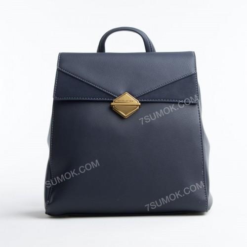 Жіночий рюкзак 6143-2T dark blue