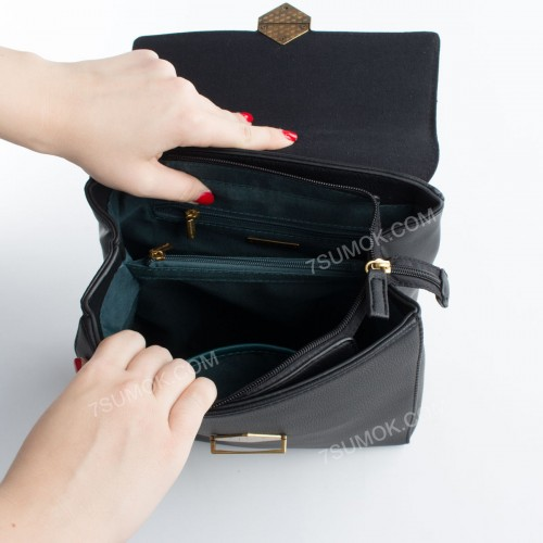 Жіночий рюкзак 6143-2T dark red
