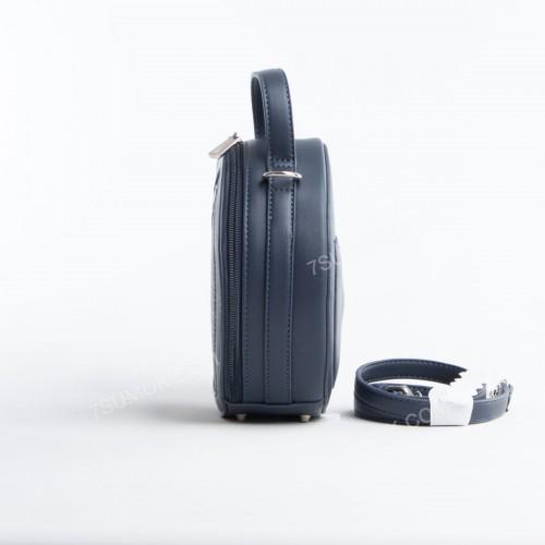 Клатч 6174-2T dark blue