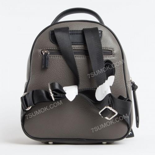 Жіночий рюкзак 6166-3T dark gray