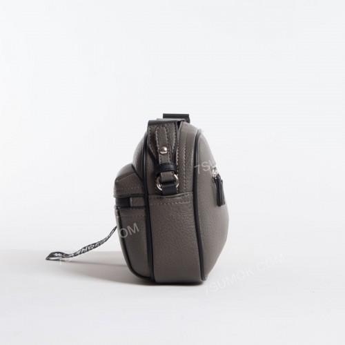 Клатч 6166-2T dark gray