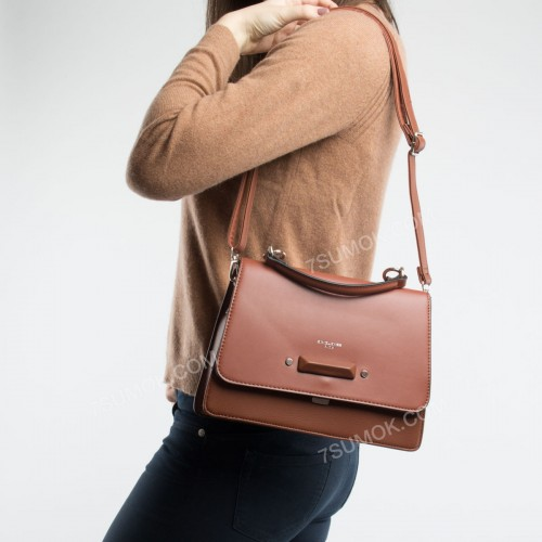Клатч TD013 brown