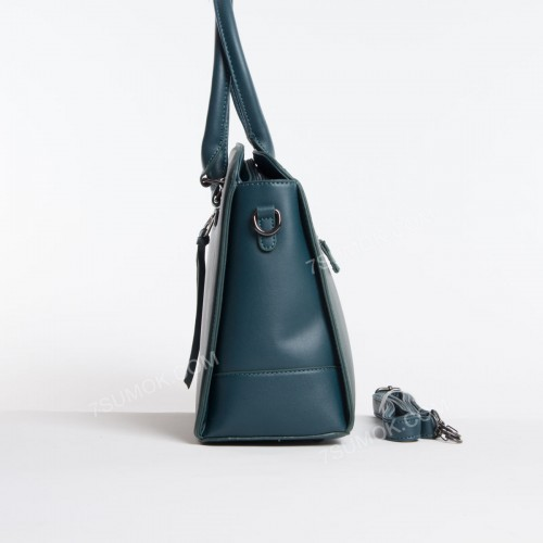 Жіноча сумка 6111-3T dark green