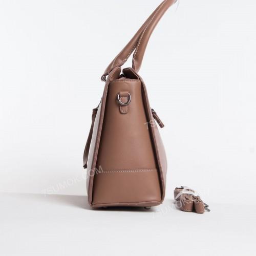 Жіноча сумка 6111-3T dark pink