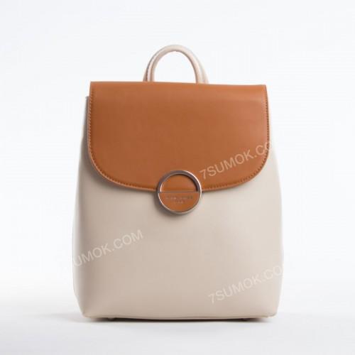 Жіночий рюкзак 6233-2T cognac