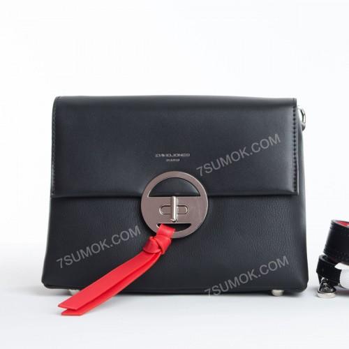 Клатч 6213-1T black