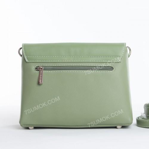 Клатч 6213-1T green