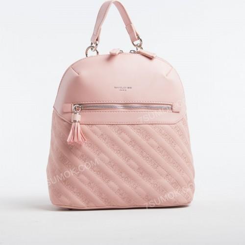 Жіночий рюкзак 6009-1T pink