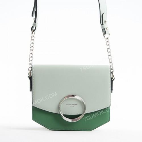 Клатч 6228-2 pale green-green