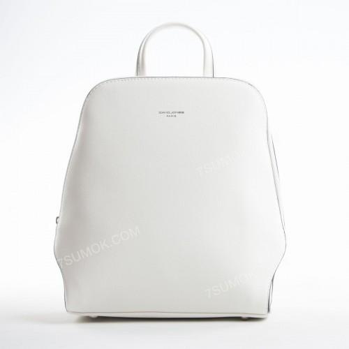 Жіночий рюкзак 6248-1T white