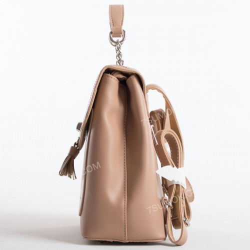 Жіночий рюкзак 6209-2T light camel
