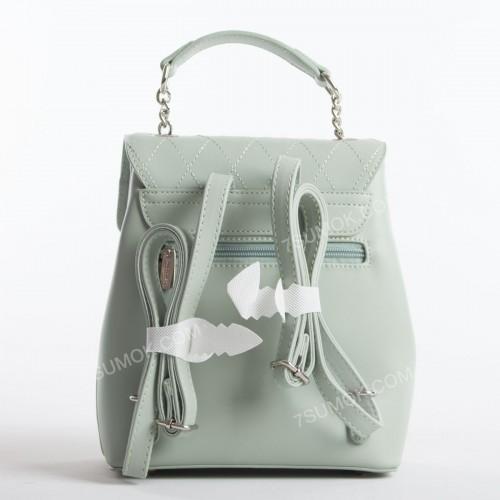 Жіночий рюкзак 6209-2T pale green