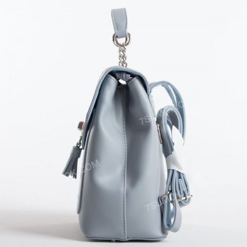 Жіночий рюкзак 6209-2T pale blue