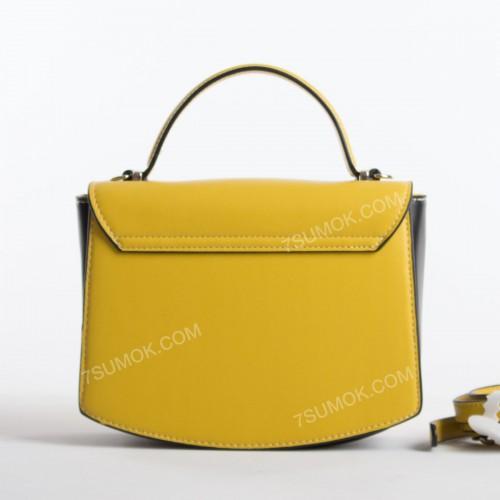 Клатч 6215-2T mustard