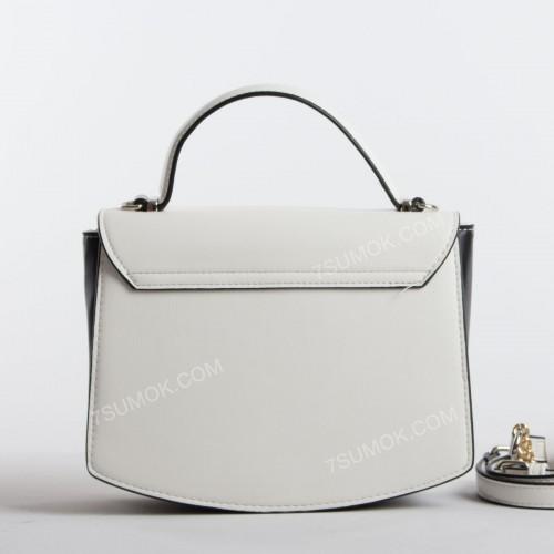 Клатч 6215-2T white