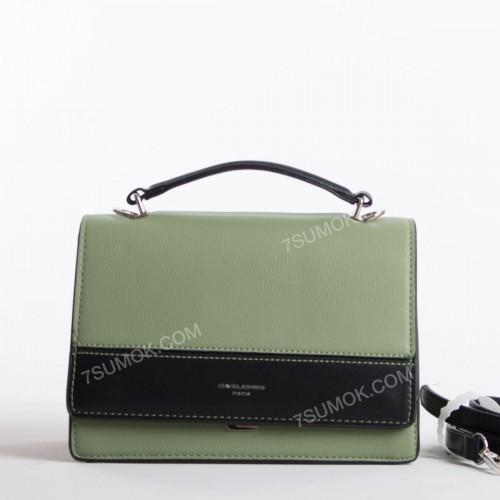 Клатч 6217-1T green