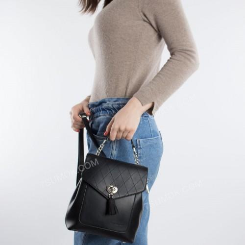 Жіночий рюкзак 6209-2T black