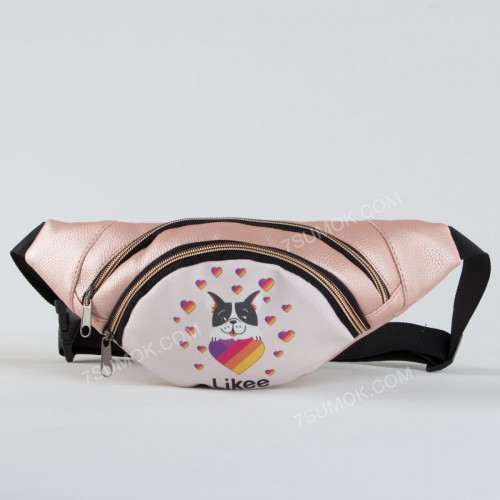 Бананка NW1002 Likee dog pink