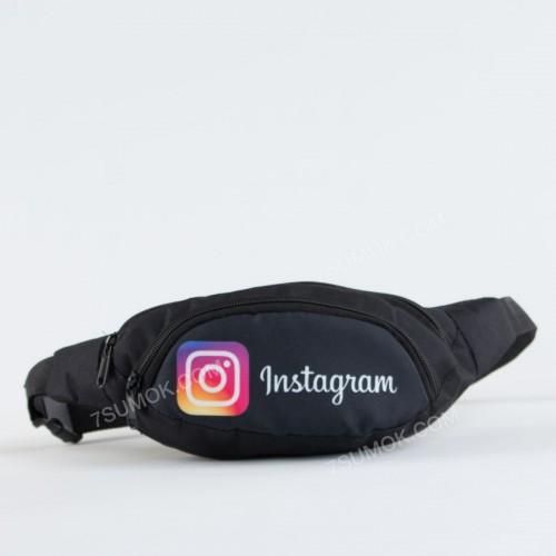 Бананка NW1007 Instagram black