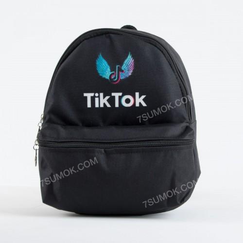 Спортивний рюкзак NW1010 TikTok black-black