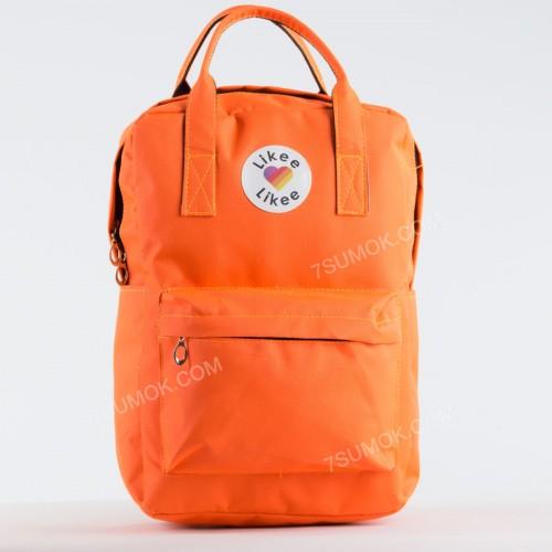 Спортивний рюкзак NW1016 Likee orange