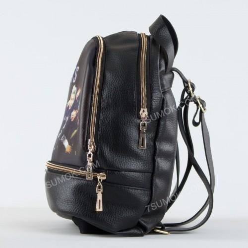 Жіночий рюкзак NW1017 BTS black