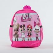 Дитячий рюкзак NW1019 girl LOL pink