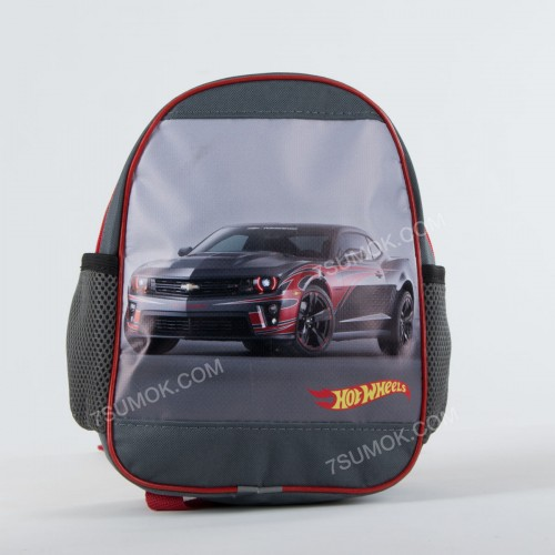Дитячий рюкзак NW1019 boy Hot Wheels gray