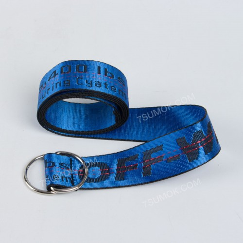 Ремінь NW1022 Off-White blue