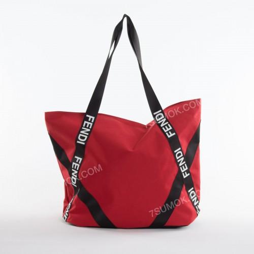 Спортивна сумка  NW1015 Fendi red