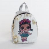 Дитячий рюкзак NW1021 LOL silver-purple