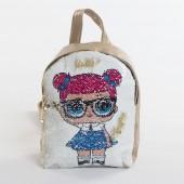 Дитячий рюкзак NW1021 LOL gold