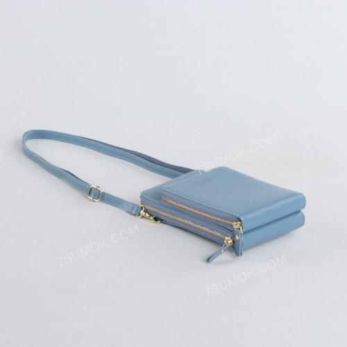 Гаманець-клатч 8398 light blue