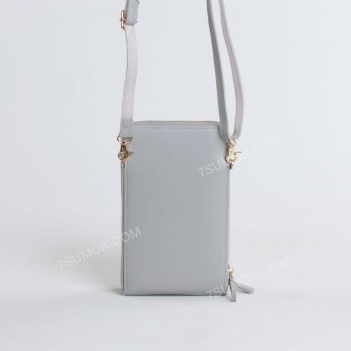 Гаманець-клатч 8397 gray
