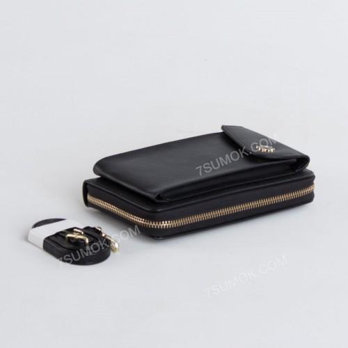 Гаманець-клатч 7106 black